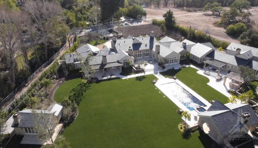 Exclusive kim k and kanye west to buy 20 million mansion for Kanye west house address