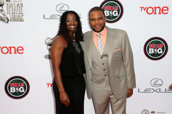 Anthony anderson and wife