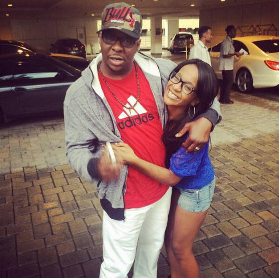 Bobby Brown and Bobbi Kristina
