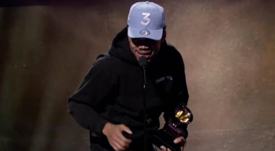 Chance the Rapper Grammy 2017 win