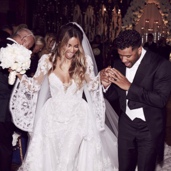Ciara Russell Wilson married