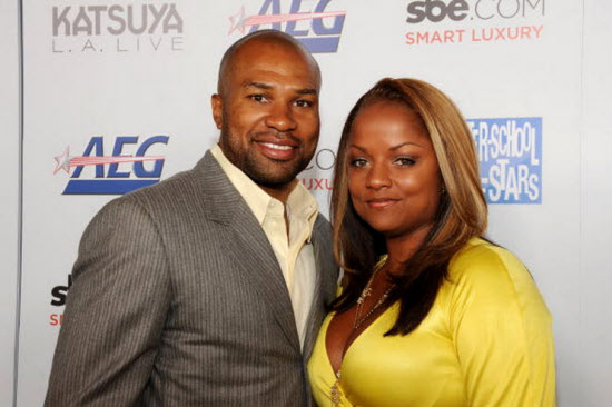 Derek Fisher Candace Fisher