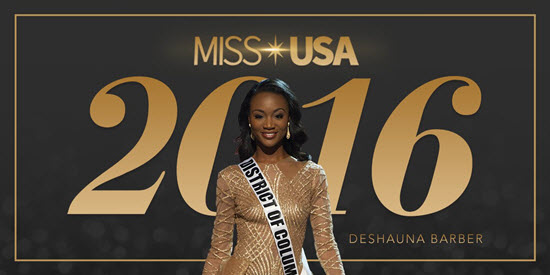 Deshauna Barber Miss USA 2016