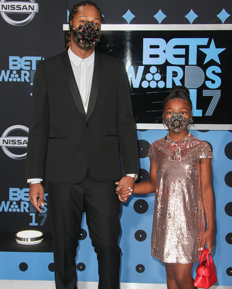 Future and Daughter Decide to Leave the Mask On During the 2017 BET ... Future Rapper Daughter
