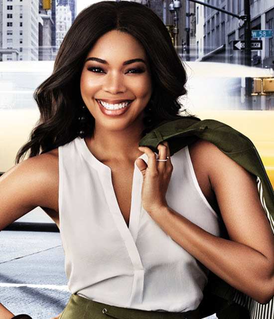 e33cf99c84c Gabrielle Union Partners with New York   Company for Multi-Year Partnership