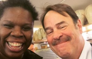Ghostbusters Leslie Jones Dan Aykroyd