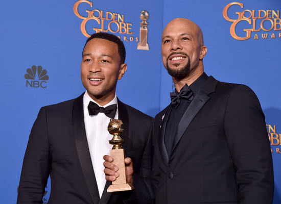 Golden Globes 2015 Common and John Legend