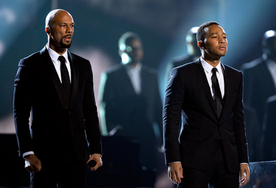 Grammys2015 Common and John Legend