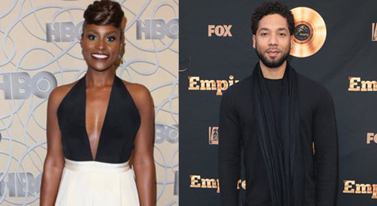 Issa Rae Jussie Smollett Giants