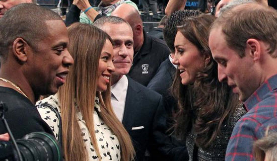 Jay Z Beyonce Kate William
