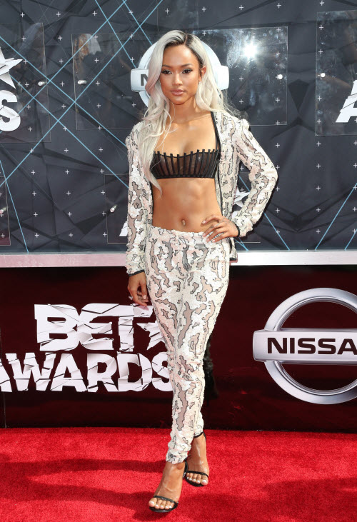 Karrueche Tran 2015 BET Awards