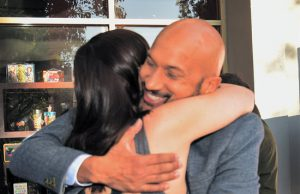 Keegan Michael Key fan hug thumb