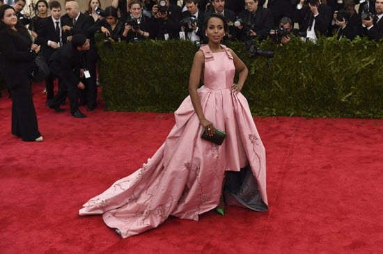 Kerry Washington Met Gala 2015 Feat