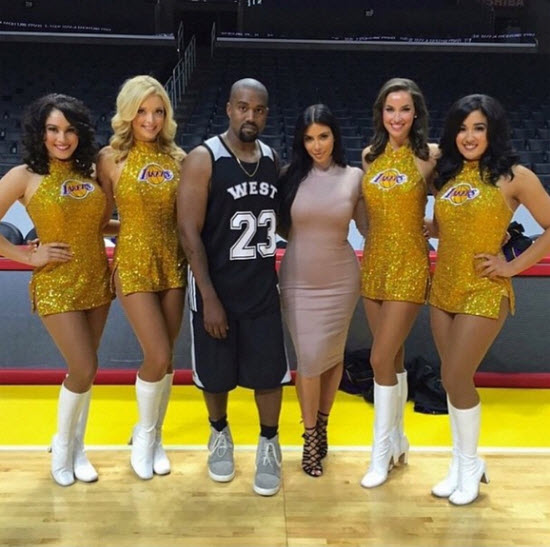 Kim Kardashian Rents Out Staples Center For Kanye West's