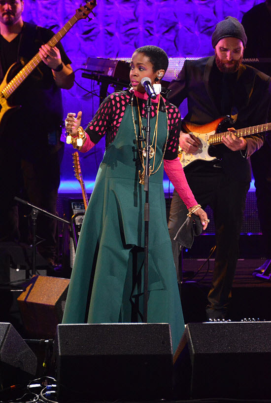 Lauryn Hill Black Girls Rock 2016