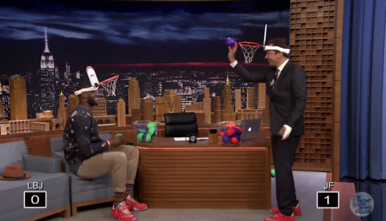 LeBron James Jimmy Fallon