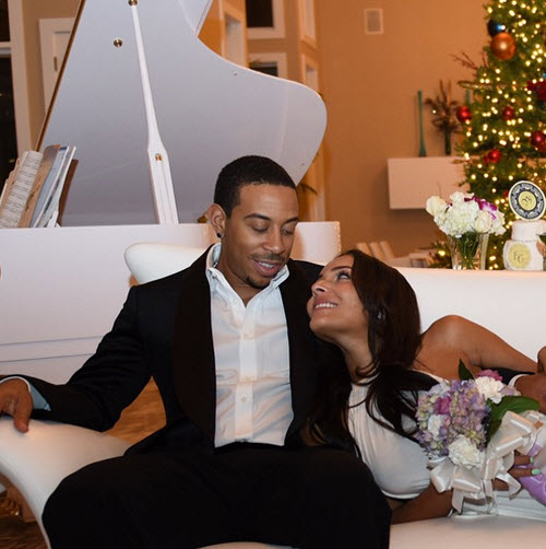 Ludacris and Eudoxie Wedding 1