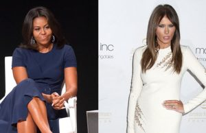 Michelle Obama Melania Trump