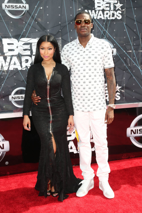 Nicki Minaj Meek Mill 2015 BET Awards