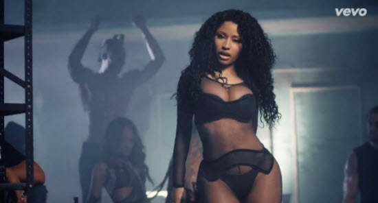 After teasing the video for weeks nicki minaj has finally dropped the