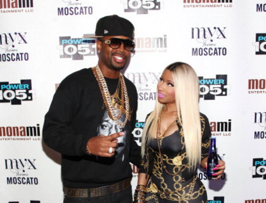 Nicki Minaj Safaree 1