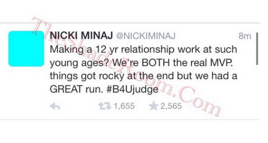 Nicki Minaj Tweets 3
