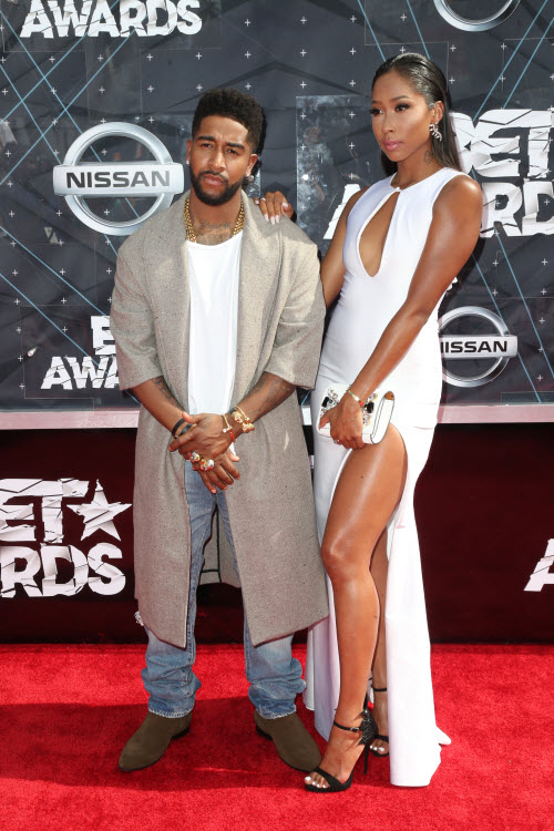 Omarion Apryl 2015 BET Awards