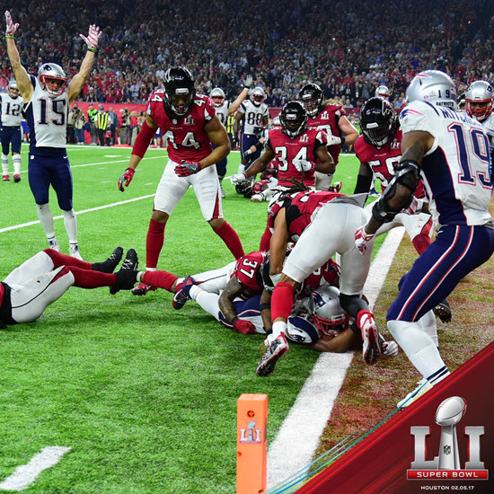 Patriots Win Super Bowl 2017