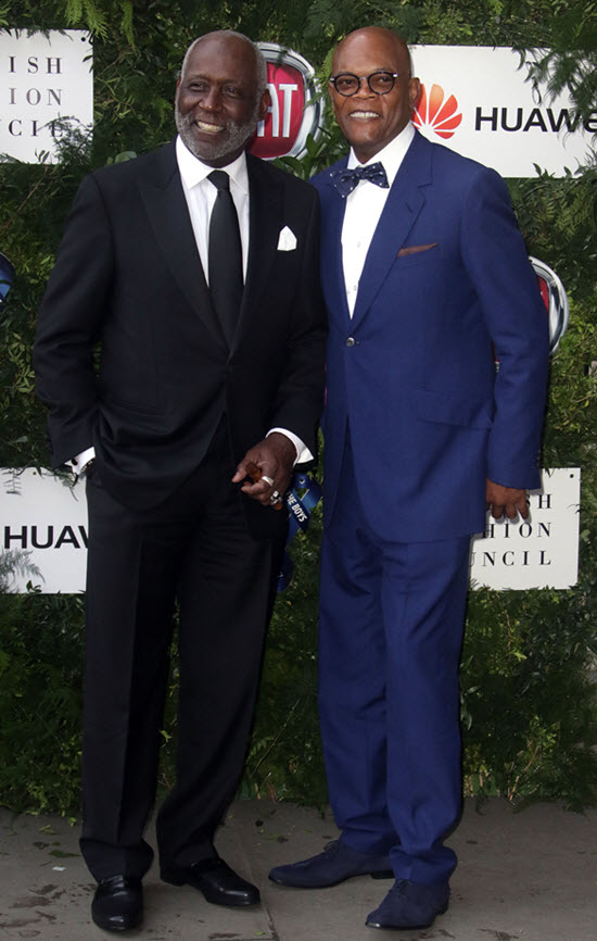Richard Roundtree Sam Jackson
