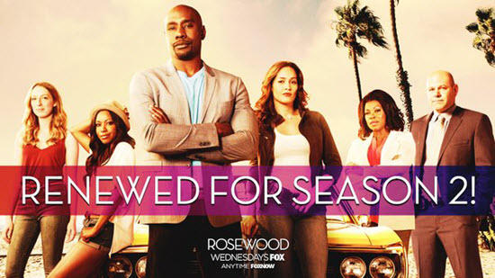 Rosewood Tv Show ~ Fox renews rosewood for season two