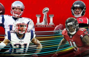 Super Bowl Falcons Patriots