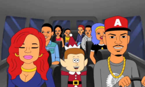TI And Family Star In Cartoon Holiday Special