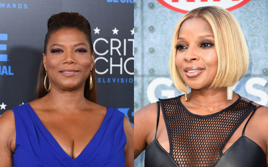 The Wiz Queen Latifah Mary J. Blige