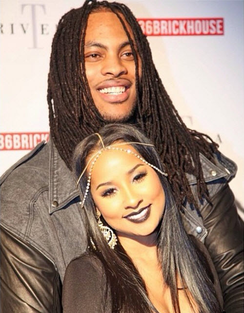 Waka Flocka Flame with beautiful, cute, Wife Tammy Rivera