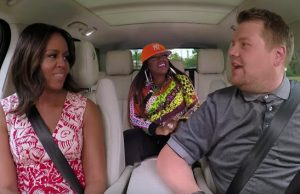 michelle-obama-missy-elliott-james-corden carpool