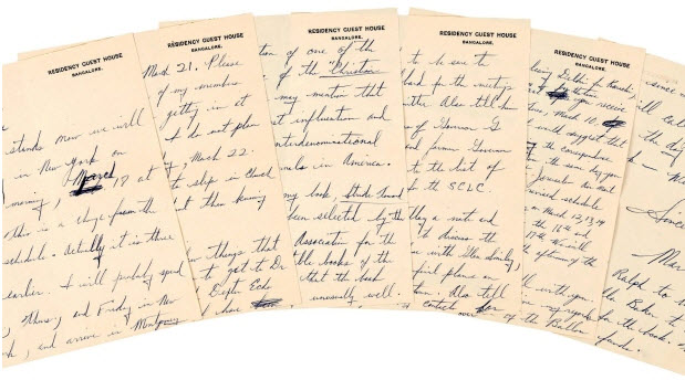 MLK Papers Go for More Than $130K at NYC Auction