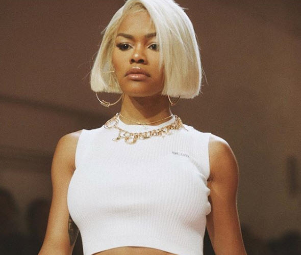 Teyana Taylor Came To Slay Watch Her Rock The Runway During Nyfw