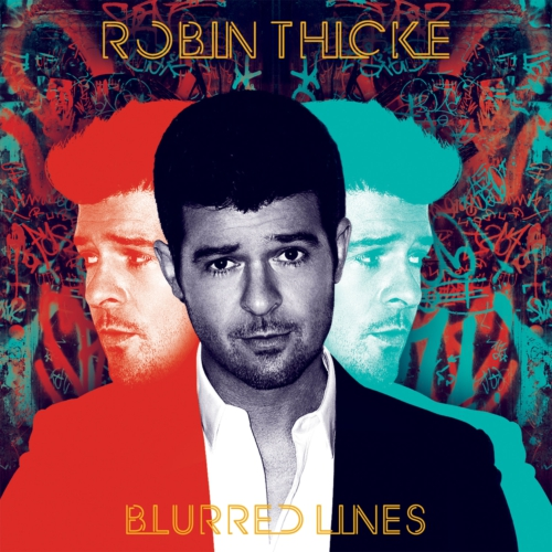 INTERSCOPE RECORDS ROBIN THICKE BLURRED LINES