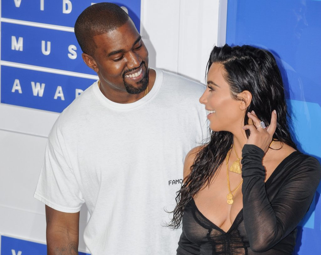 Kim Kardashian West and Kanye West Reportedly In Talks ...